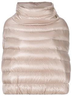 куртка-пуховик с разрезами для рукавов Herno