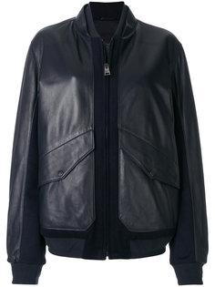 куртка бомбер с панельным дизайном Liska