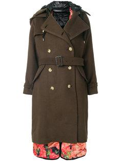 двубортное пальто Facetasm