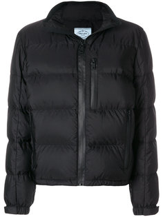 куртка-пуховик на молнии Prada