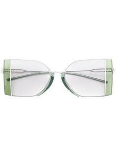 солнцезащитные очки в металлической оправе Calvin Klein 205W39nyc