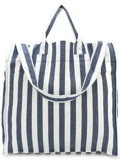 полосатая сумка-тоут Sunnei