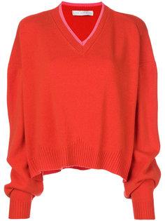 мешковатый свитер с V-образным вырезом Giada Benincasa