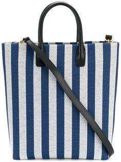 полосатая сумка-тоут Mansur Gavriel