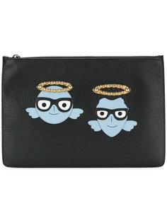 клатч с заплатками в виде дизайнеров Dolce & Gabbana