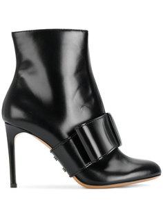 ботинки с бантом Valentino