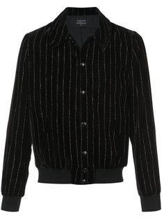 бархатная куртка Morrisey в полоску  Garcons  Infideles