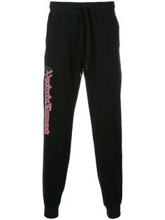 спортивные брюки с графическим принтом Hysteric Glamour