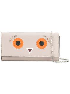 декорированный клатч Eyes Fendi