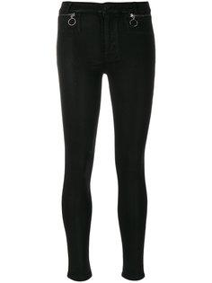 джинсы скинни с молнией  Hudson
