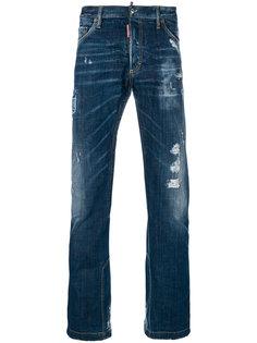 расклешенные джинсы Dsquared2