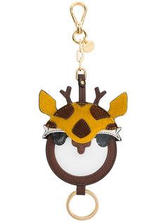 сумка с подвеской-жирафом  Miu Miu