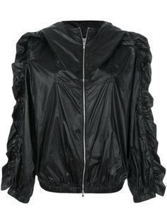 куртка с капюшоном и оборками Sonia Rykiel