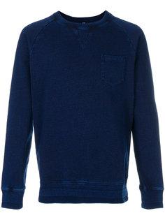 свитер с потертой отделкой Edwin