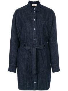 джинсовое платье-рубашка Lena Maison Kitsuné