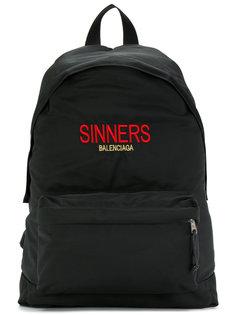 рюкзак Bal Explorer Sinners Balenciaga