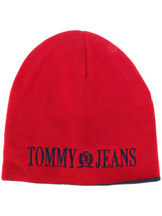 вязаная шапка 90s Tommy Jeans