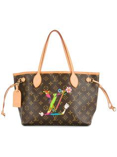 сумка с монограммой neverfull Louis Vuitton Vintage