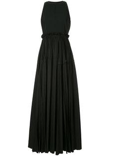 плиссированное вечернее платье Dice Kayek