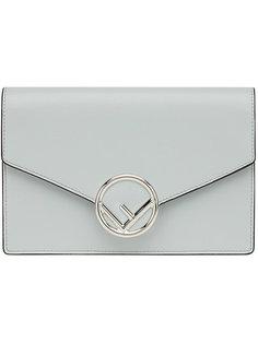 сумка-конверт на цепочке Fendi