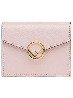 кошелек с откидным верхом с логотипом Fendi