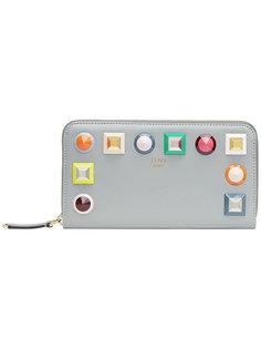 кошелек с заклепками Fendi