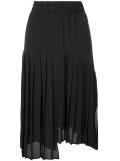 асимметричная плиссированная юбка Isabel Marant