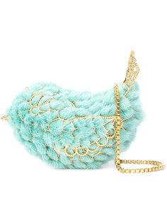 кошелек в форме птицы с цепочной лямкой Natasha Zinko