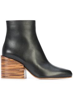 ботильоны на каблуках-столбиках Gabriela Hearst