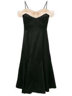 приталенное платье  Blumarine