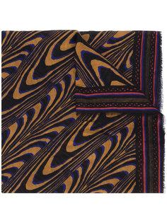 шарф с абстрактным принтом A Peace Treaty