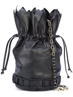 сумка на завязках с цепочной лямкой Tomasini