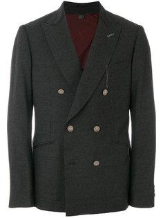 двубортный пиджак Maurizio Miri