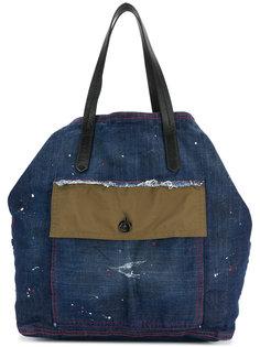 джинсовая сумка-тоут Dsquared2