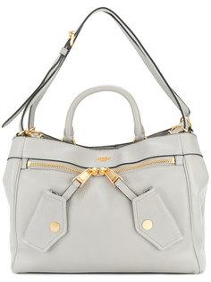 сумка через плечо с бляшкой с логотипом Moschino