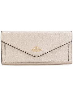 мягкий кошелек-конверт Coach