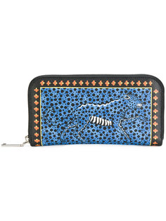 кошелек с принтом леопарда Etro
