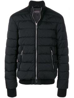 куртка-пуховик на молнии Emporio Armani