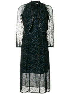 платье со звездным принтом Coach