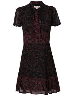 платье с принтом звезд и завязками на шее Michael Michael Kors