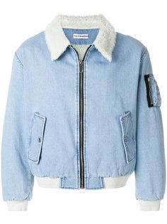 джинсовая куртка с воротником под овчину Gosha Rubchinskiy
