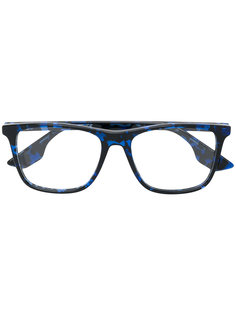 очки с эффектом черепашьего панциря Mcq By Alexander Mcqueen Eyewear