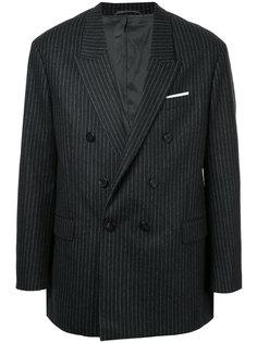 двубортный пиджак в полоску Neil Barrett