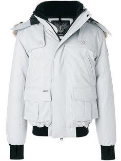 пальто-пуховик Cartel с контрастной окантовкой Nobis