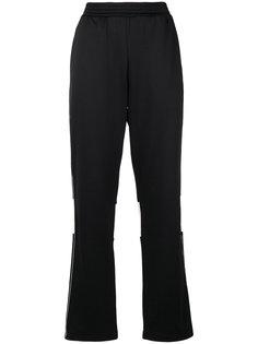 расклешенные спортивные брюки Wales Bonner