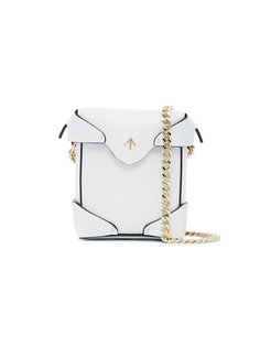 микро сумка через плечо Pristine Manu Atelier