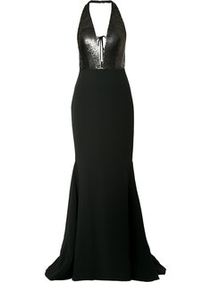 вечернее платье с пайетками Romona Keveza