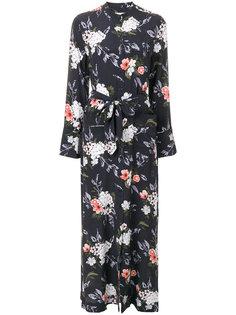 длинное платье Britten с цветочным принтом Equipment