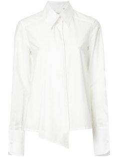 асимметричная рубашка  Lemaire