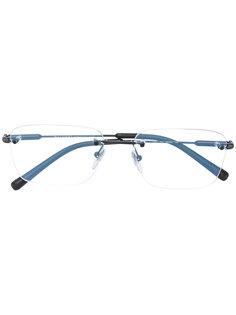 классические квадратные очки  Bulgari